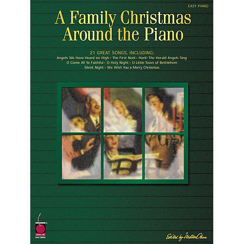 Cherry Lane Family Christmas Around The Piano For Easy Piano