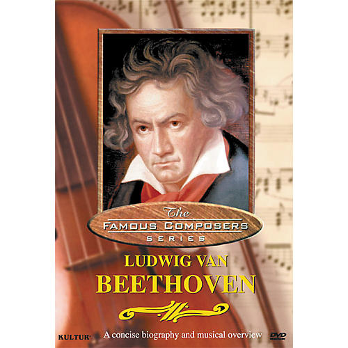 Kultur Famous Composers Ludwig Van Beethoven DVD