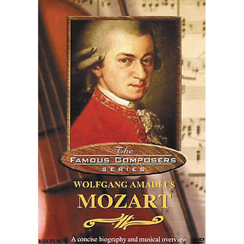 Kultur Famous Composers Wolfgang Mozart DVD