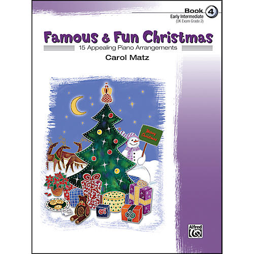 Alfred Famous & Fun Christmas Book 4