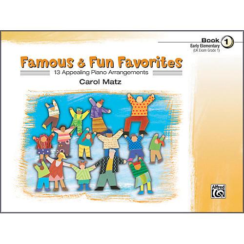 Alfred Famous & Fun Favorites Book 1 Piano