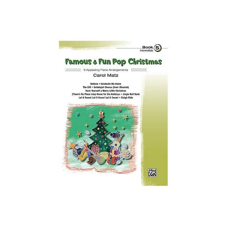 AlfredFamous & Fun Pop Christmas Book 5