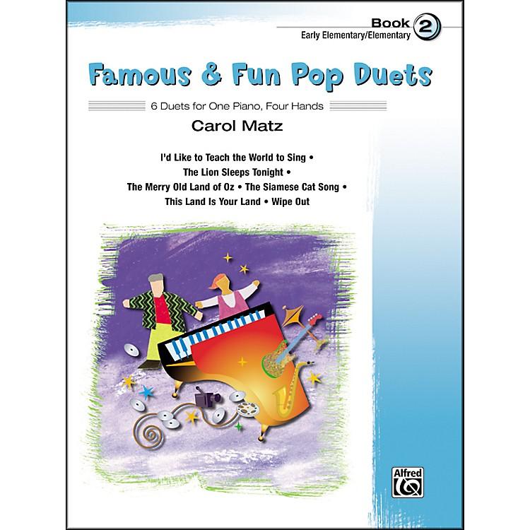 AlfredFamous & Fun Pop Duets Book 2