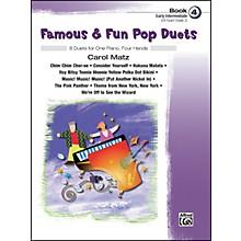 Alfred Famous & Fun Pop Duets Book 4 Book 4