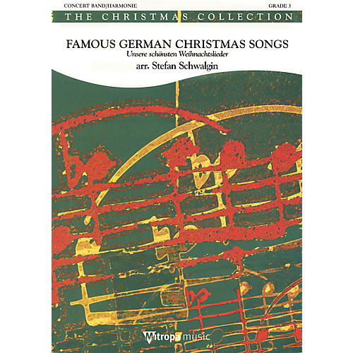 Mitropa Music Famous German Christmas Songs Full Score Concert Band Level 4 Arranged by Stefan Schwalgin-thumbnail