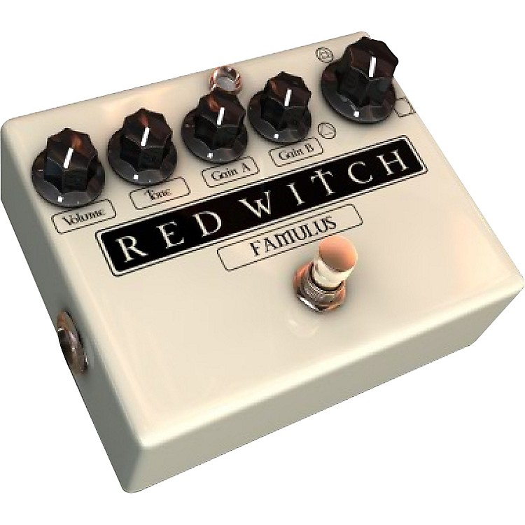 Red Witch Famulus Distortion Guitar Effects Pedal