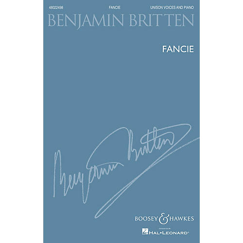 Boosey and Hawkes Fancie (Unison Voices And Piano New Edition) UNIS composed by Benjamin Britten-thumbnail