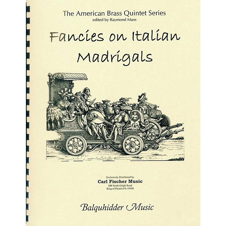 Carl FischerFancies on Italian Madrigals Book
