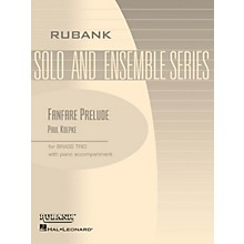 Rubank Publications Fanfare Prelude (Brass Trio with Piano - Grade 2) Rubank Solo/Ensemble Sheet Series