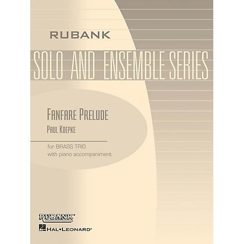 Rubank Publications Fanfare Prelude (Brass Trio with Piano - Grade 2) Rubank Solo/Ensemble Sheet Series-thumbnail