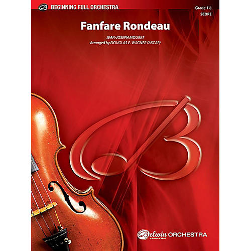 Alfred Fanfare Rondeau Full Orchestra Grade 1.5 Set-thumbnail