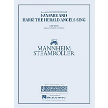 Mannheim Steamroller Fanfare and Hark! The Herald Angels Sing Concert Band Level 4 by Mannheim Steamroller by Longfield