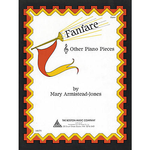 Music Sales Fanfare and Other Piano Pieces Music Sales America Series Softcover Composed by Mary Armistead-Jones