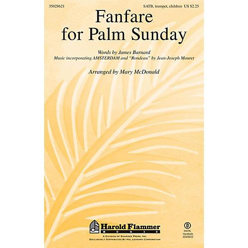 Shawnee Press Fanfare for Palm Sunday SATB arranged by Mary McDonald