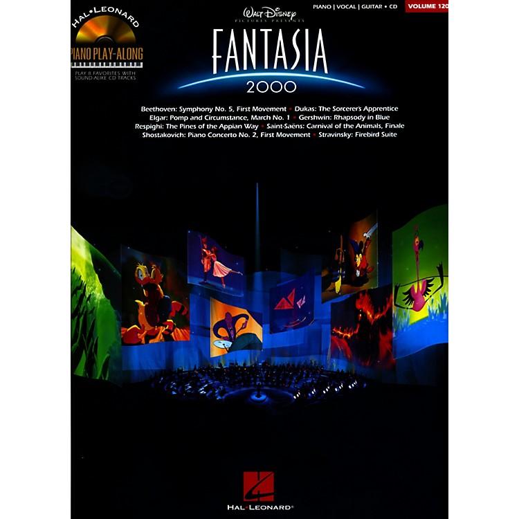 Hal LeonardFantasia 2000 - Piano Play-Along Volume 120 Book/CD