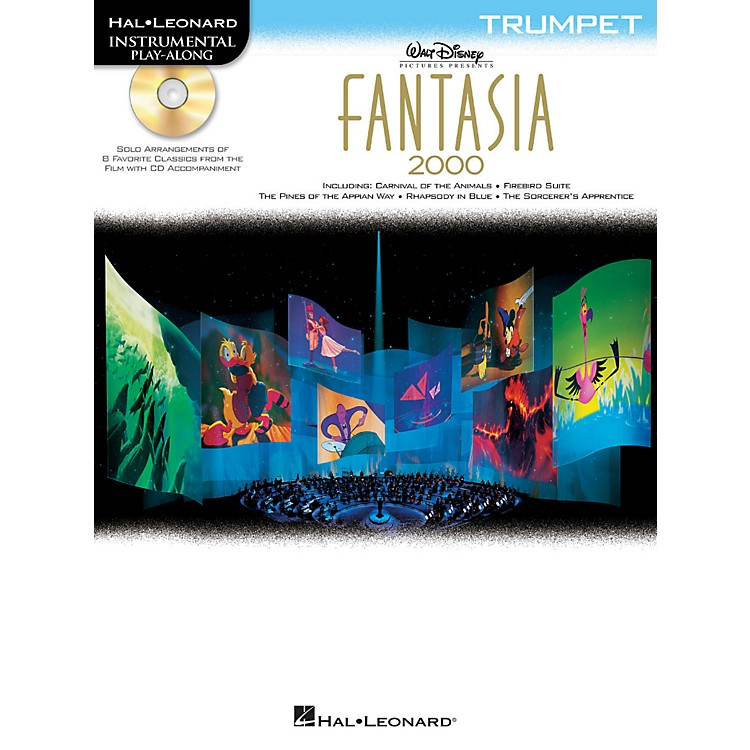 Hal LeonardFantasia 2000 For Trumpet - Instrumental Play-Along Book/CD