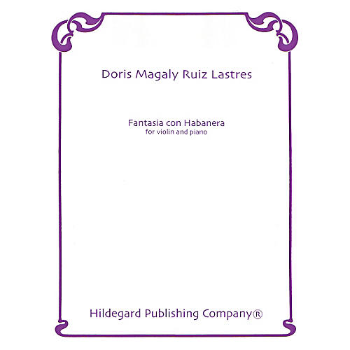 Theodore Presser Fantasia Con Habanera (Book + Sheet Music)-thumbnail