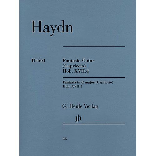 G. Henle Verlag Fantasia in C Major (Capriccio) Hob. XVII:4 Henle Music Softcover by Haydn Edited by Sonja Gerlach-thumbnail
