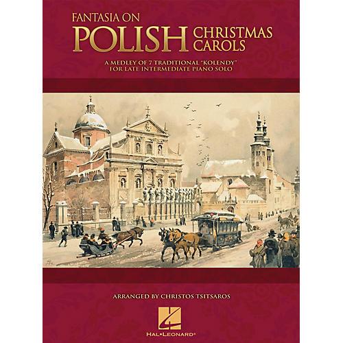 Hal Leonard Fantasia on Polish Christmas Carols Educational Piano Solo Series Book (Level Late Inter)-thumbnail