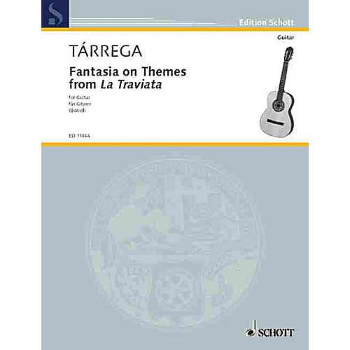 Schott Fantasia on Themes from La Traviata (Guitar Solo) Schott Series-thumbnail