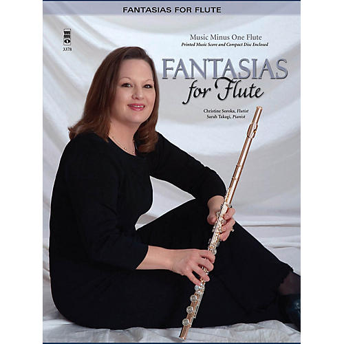 Music Minus One Fantasias for Flute: Classics with Piano (2-CD Set) Music Minus One Series Softcover with CD-thumbnail