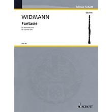 Schott Fantasie (for Solo Clarinet) Schott Series