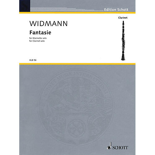 Schott Fantasie (for Solo Clarinet) Schott Series-thumbnail
