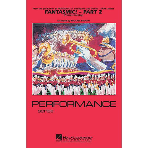 Hal Leonard Fantasmic! - Part 2 (Princess Medley) Marching Band Level 3-4 Arranged by Michael Brown-thumbnail