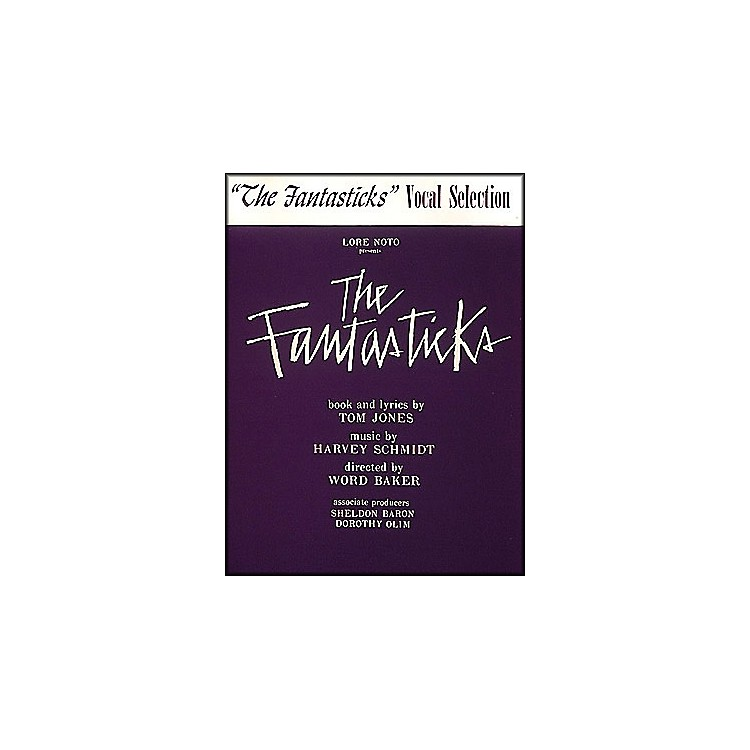 Hal LeonardFantasticks Vocal Selection arranged for piano, vocal, and guitar (P/V/G)