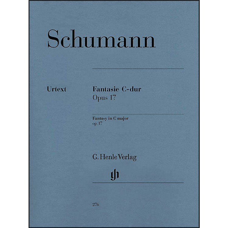 G. Henle Verlag Fantasy C Major Op. 17 By Schumann