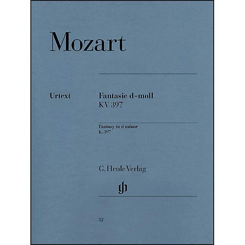 G. Henle Verlag Fantasy D Minor K397 (385G) By Mozart-thumbnail