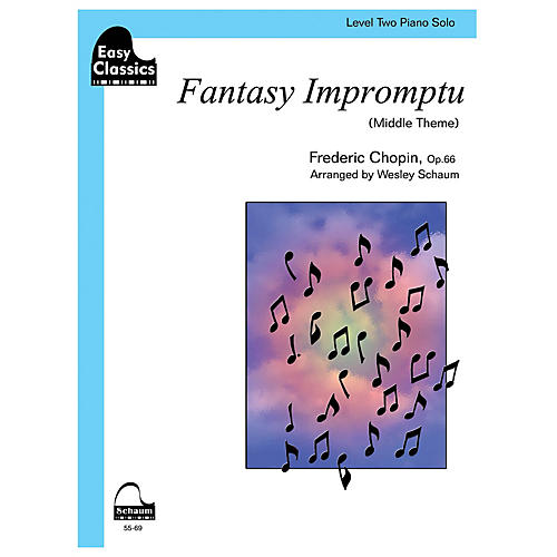 SCHAUM Fantasy Impromptu Educational Piano Series Softcover-thumbnail