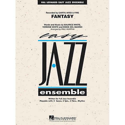 Hal Leonard Fantasy Jazz Band Level 2 by Earth, Wind & Fire Arranged by Paul Murtha-thumbnail