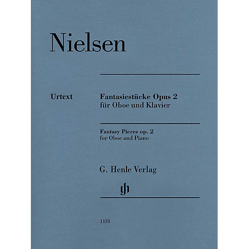 G. Henle Verlag Fantasy Pieces Op 2 (Oboe and Piano) Henle Music Folios Series Book-thumbnail