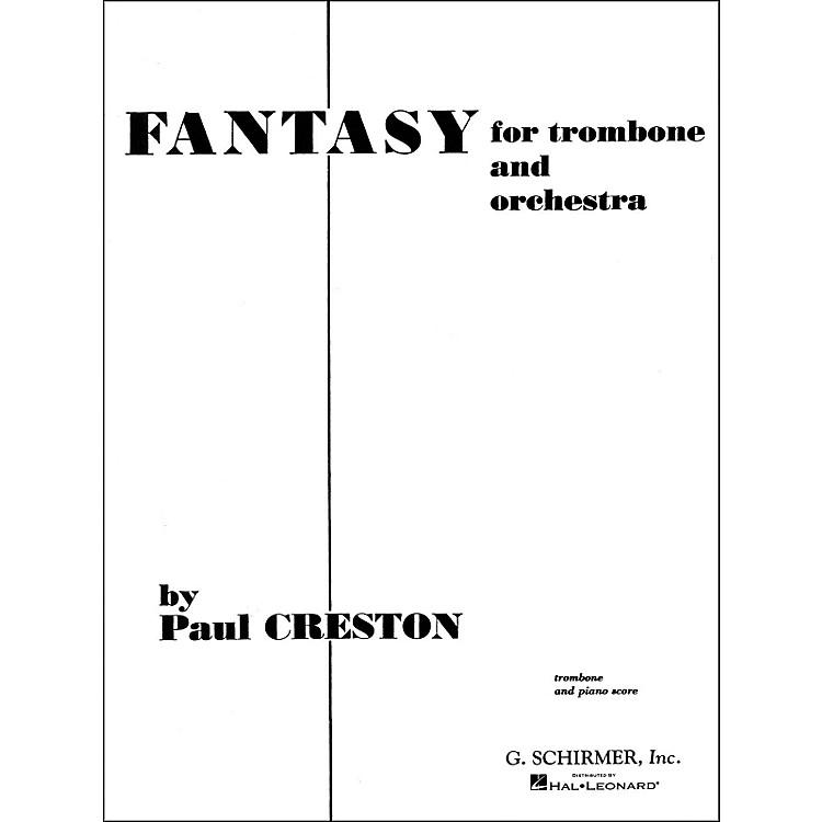 G. SchirmerFantasy for Trombone Pno/Redorig for Orchestra