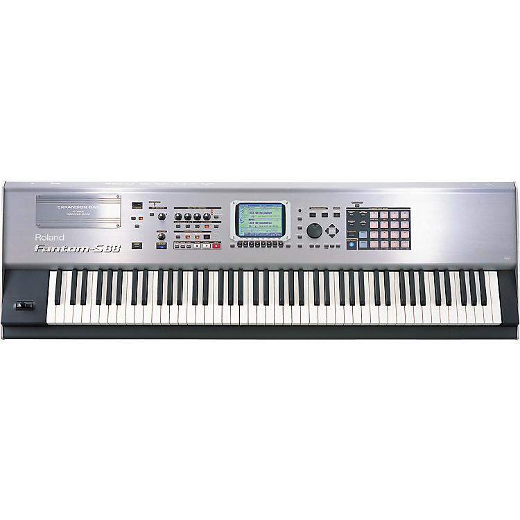 RolandFantom-S88 88-Note Sampling Music Workstation