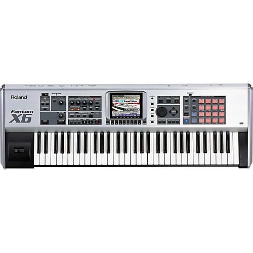 Roland Fantom-X6 61-Key Sampling Workstation