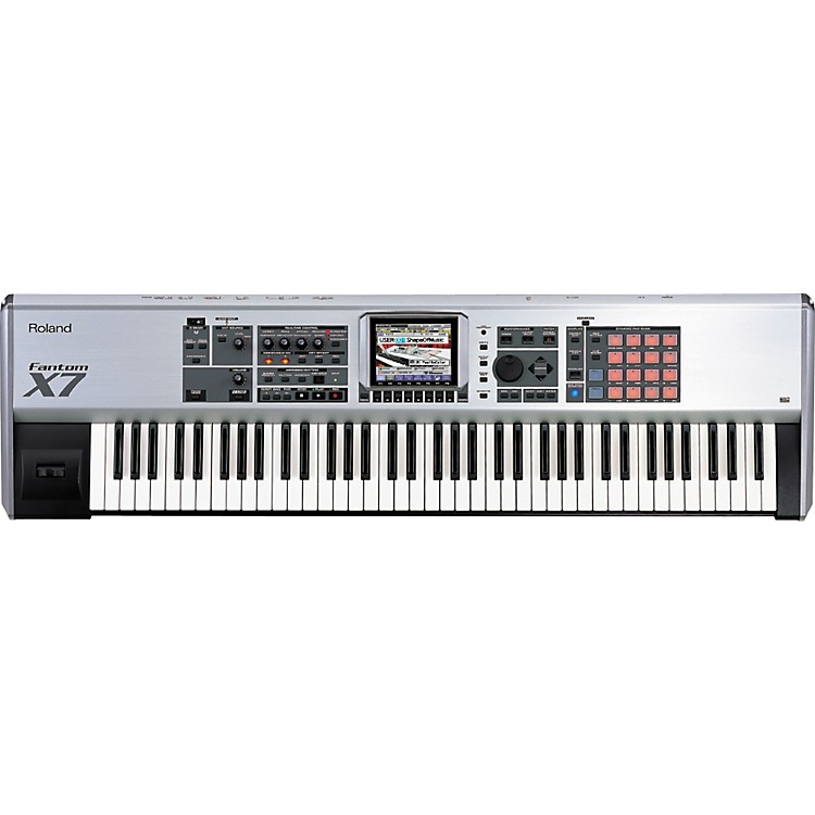 Roland Fantom-X7 76-Key Sampling Workstation