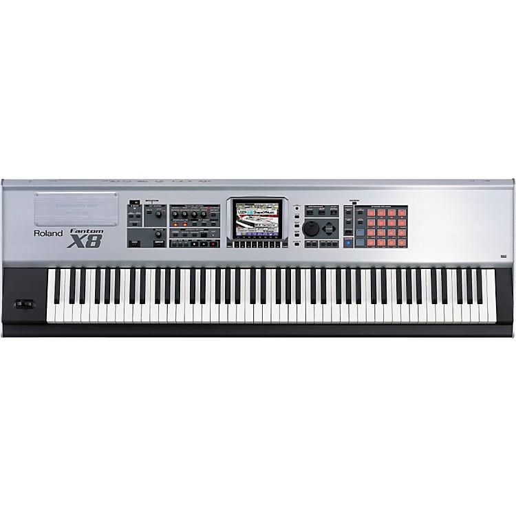 roland fantom x8 88 key sampling workstation musician 39 s friend. Black Bedroom Furniture Sets. Home Design Ideas