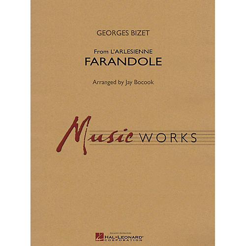 Hal Leonard Farandole (from L'arlesienne) Concert Band Level 4 Composed by Jay Bocook