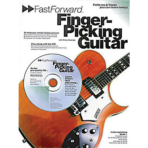 Music Sales Fast Forward - Fingerpicking Guitar Music Sales America Series Softcover with CD Written by Rikky Rooksby-thumbnail