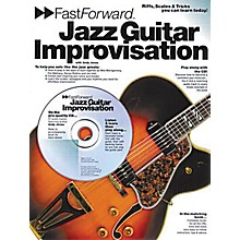 Music Sales Fast Forward - Jazz Guitar Improvisation Music Sales America Series Softcover with CD by Andy Jones