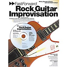 Music Sales Fast Forward - Rock Guitar Improvisation Music Sales America Series Softcover with CD by Rikky Rooksby