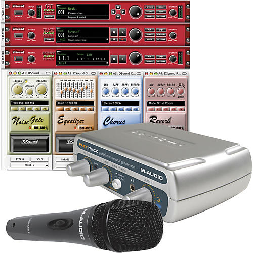 M-Audio Fast Track Studio USB Bundle