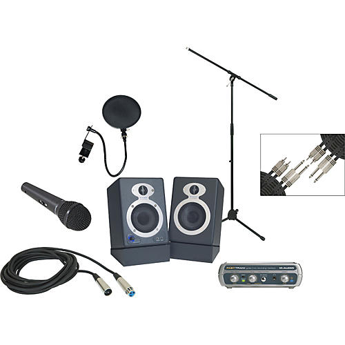 M-Audio Fast Track USB Recording Package
