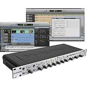 m audio fast track ultra 8r usb interface with pro tools se musician 39 s friend. Black Bedroom Furniture Sets. Home Design Ideas