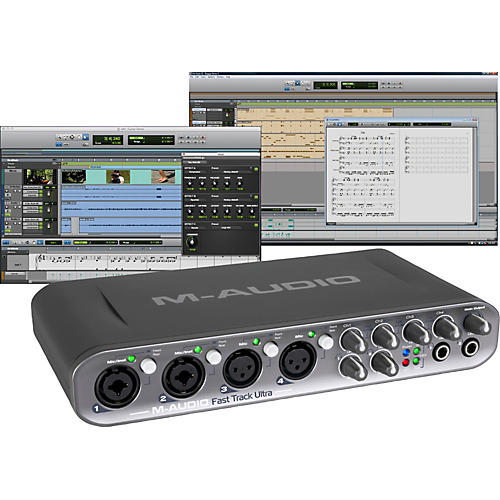 M-Audio Fast Track Ultra USB Audio Interface with Pro Tools SE -thumbnail