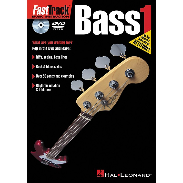 Hal Leonard FastTrack Bass 1 (DVD)