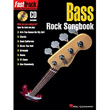 Hal Leonard FastTrack Bass Rock Songbook Book/CD