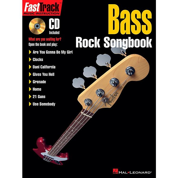 Hal LeonardFastTrack Bass Rock Songbook Book/CD